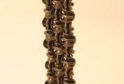"""""""Cerchietti"""". Incastro di elementi forgiati (cm 70x30 )"""