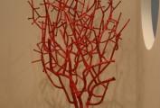 """""""Corallo"""". Collezione privata, ferro forgiato verniciato a polvere (cm 190x80 )"""